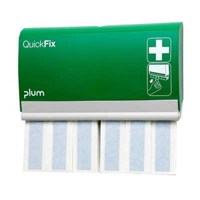 680100: QuickFix pleisterdispenser - inclusief 2 x 30 Detectable Long pleisters